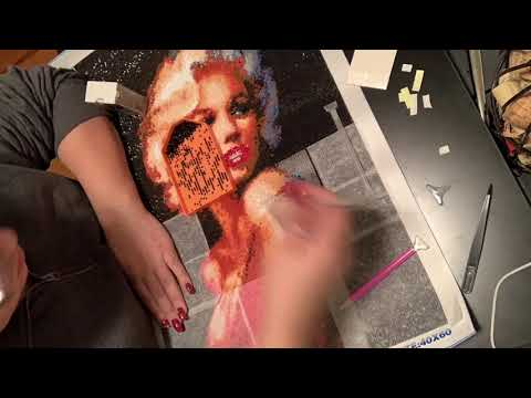 Marilyn Monroe Diamond Painting Time Lapse Mp3