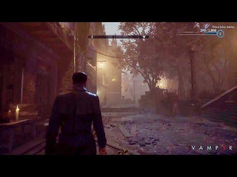VAMPYR Gameplay Demo Walkthrough (Gamescom 2016)