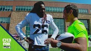 Seahawks Inspire Local, Blind Athlete | Q13 FOX