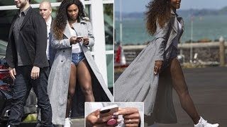 Serena Williams steps out with Reddit co-founder fiance Alexis Ohanian