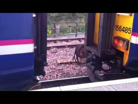 Scotrail 156 - Oban train combines