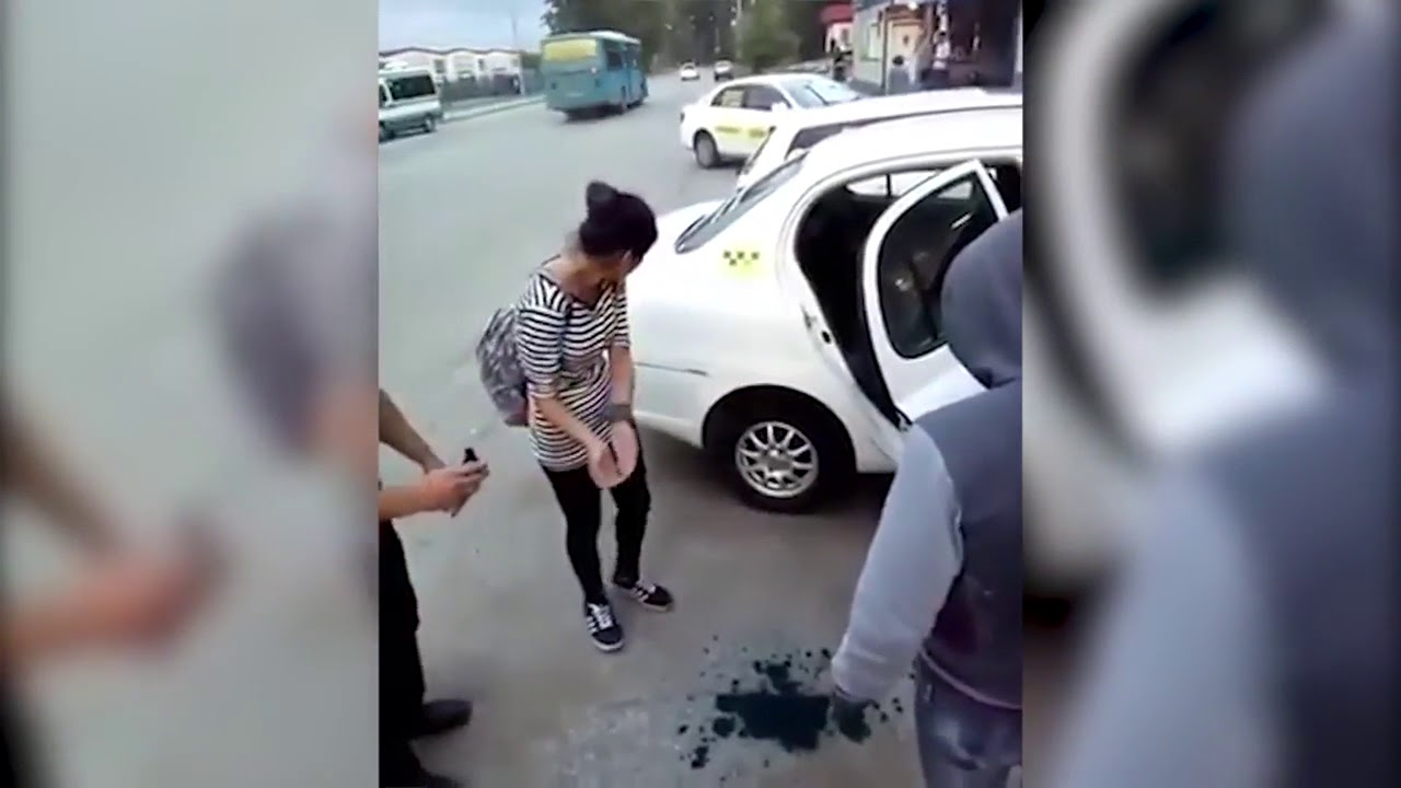 Наказали двух девок