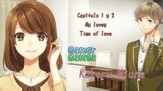 My lovey- time of lover- español-ruta de kakeru miura -capítulos 1 y 2