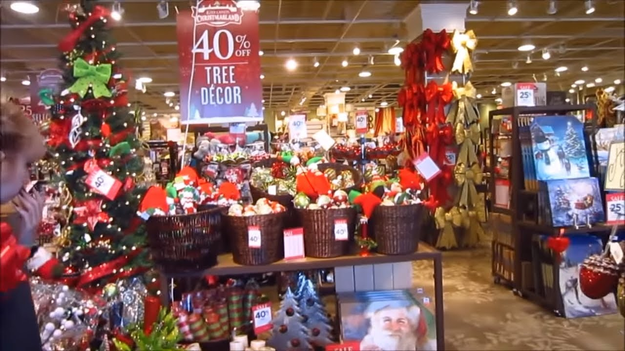 Looking at Christmas Decorations at Kirkland\'s & Pier 1 - YouTube