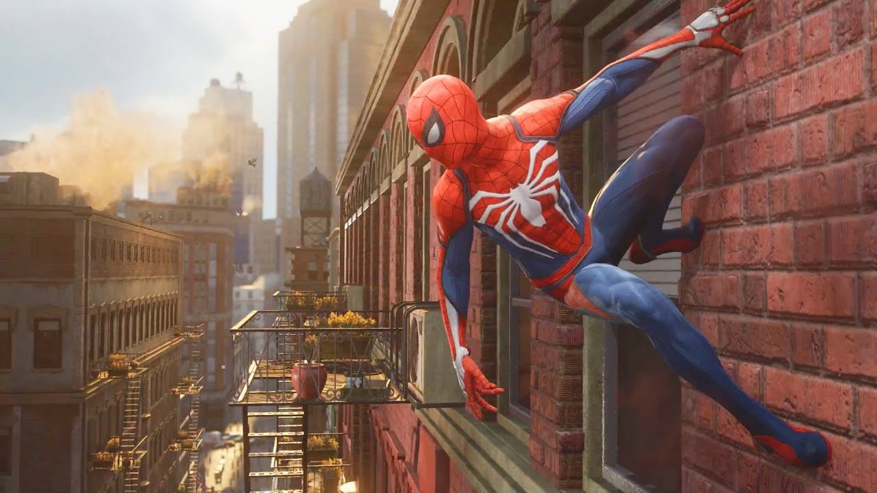 Image result for spiderman ps4 1920x1080