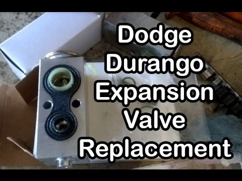 Replacing The Expansion Valve On A 2001 Dodge Durango