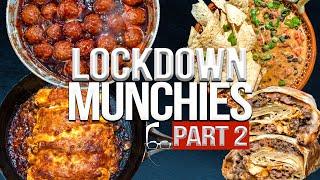 QUARANTINE (LOCKDOWN) MUNCHIES - PART 2 | SAM THE COOKING GUY 4K