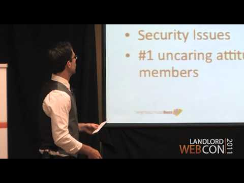 Web Con 2011 - Tenant Retention Strategies - Part 1