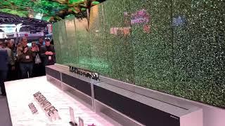 ISE2019: LG OLED Roll Up TV