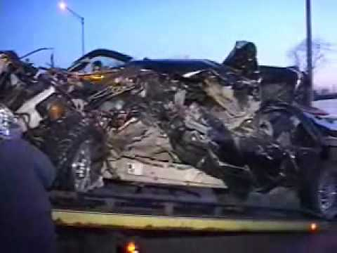 Pickup and semi-truck accident outside of Joliet, Illinois