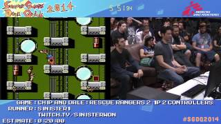 Summer Games Done Quick 2014 - Part 128 - Chip And Dale: Rescue Rangers 2