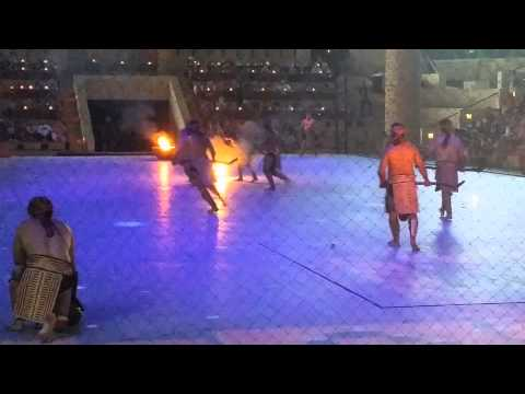 Mayan Fireball Game Xcaret Espectacular Mexico