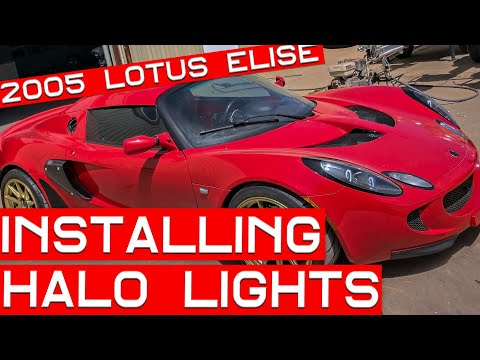 How to Install Halo Lights on a Lotus Elise