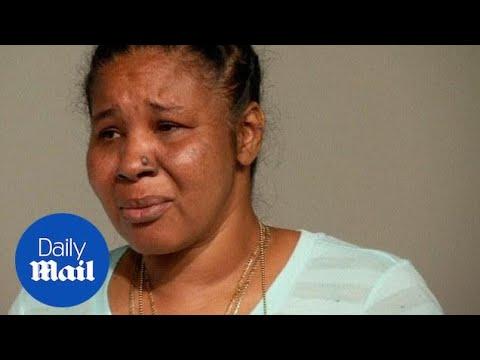 'They treated my husband like an animal': Wife of Eric Garner - Daily Mail