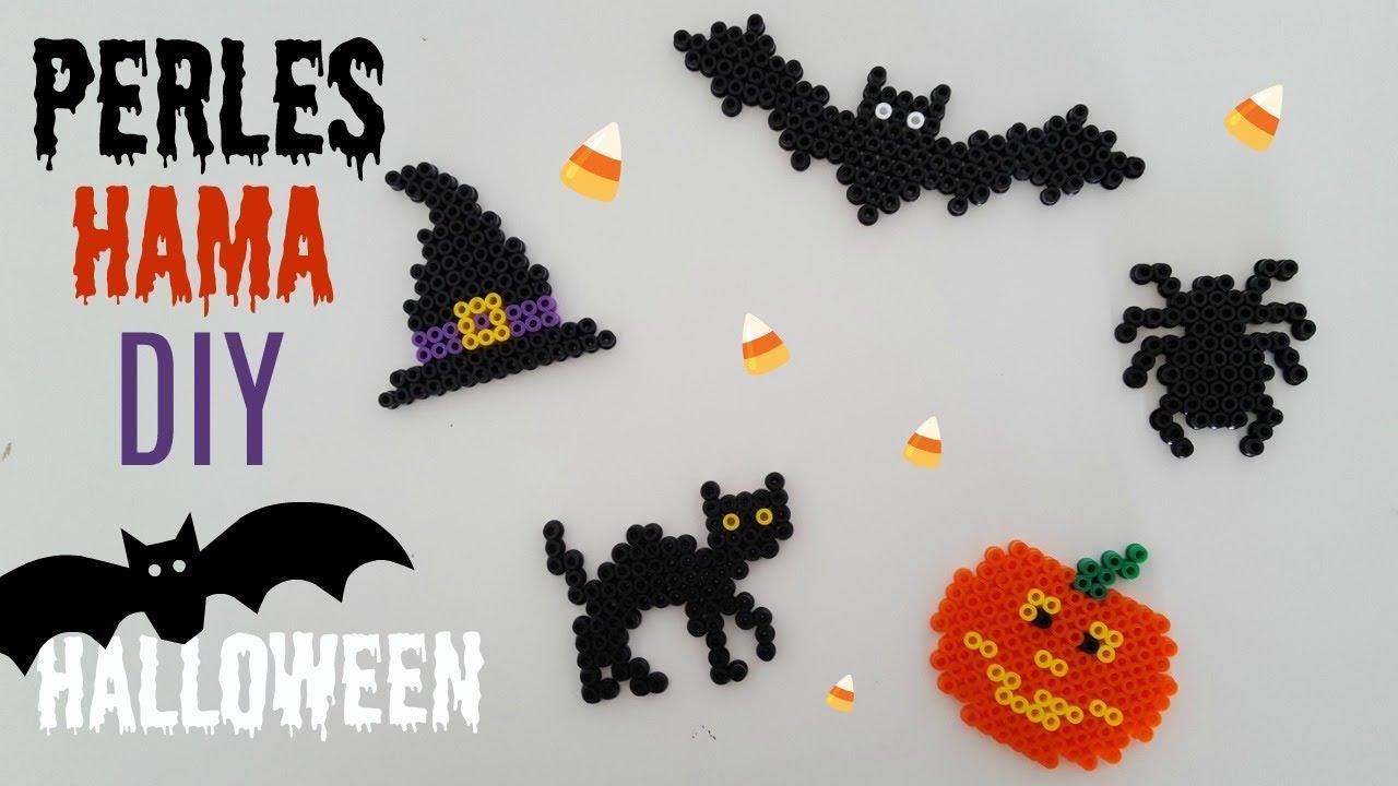 Diy Perles Hama Halloween Youtube