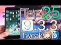 Top 25 Cydia Tweaks iOS 9.3.3 Jailbreak!...