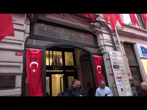 Beyoğlu Belediyesi - Mehmet Akif Ersoy Mısır Apartmanı'nda Anıldı