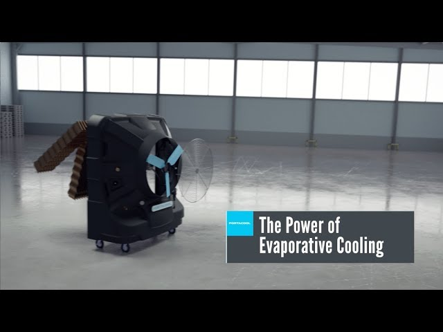 The Power of Evaporative Cooling