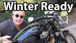 How To Prepare A Motorcycle For Winter Storage