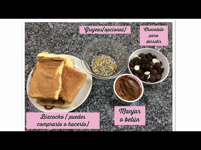 Cake pops súper fáciles! Sin horno solo 4 ingredientes!