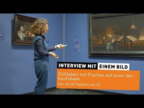 """Interview mit einem Bild #9 """"Stillleben mit Fischen"""" Jacob Foppens van Es"""