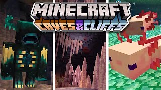 Everything You Need To Know About Minecraft 1.17 - Caves And Cliffs