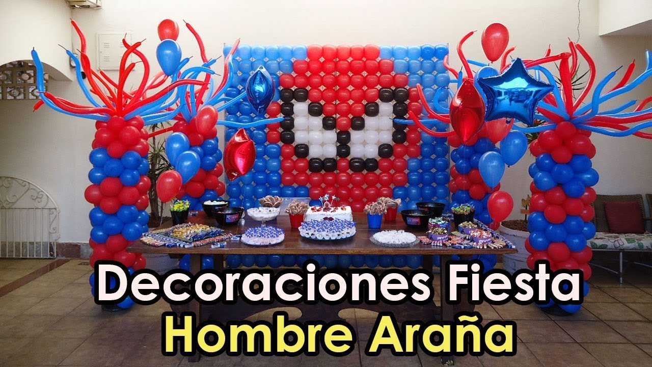 Ideas decoracion hombre ara a youtube - Decoracion de aranas ...