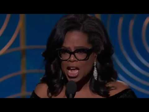 Golden Globes 2018: Watch Oprah Winfrey speak on future of women