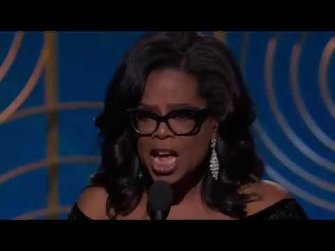 Watch Oprah Winfrey's Golden Globe acceptance speech