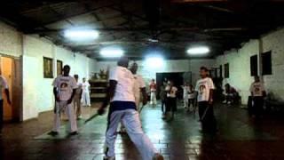 treino de capoeira com mestre tayson(grupo oxossi)