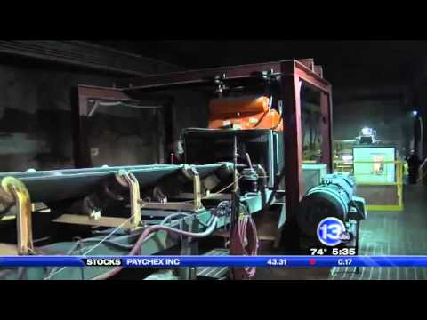 Local Mine Works To Meet Salt Demand