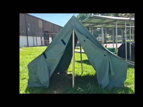 DIY Wood Frame for Canvas Wall Tents Instructions