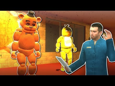 FNAF MULTIPLAYER in GMOD! - Garrys Mod Gameplay - Gmod FNAF Survival Map