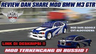 MOD TERKENCANG DI BUSSID! MOD BMW M3 GTR CVT ALDOVADEWA   BUS SIMULATOR INDONESIA