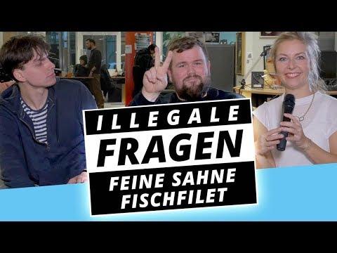 FEINE SAHNE FISCHFILET ist eitel?! - Illegale Fragen