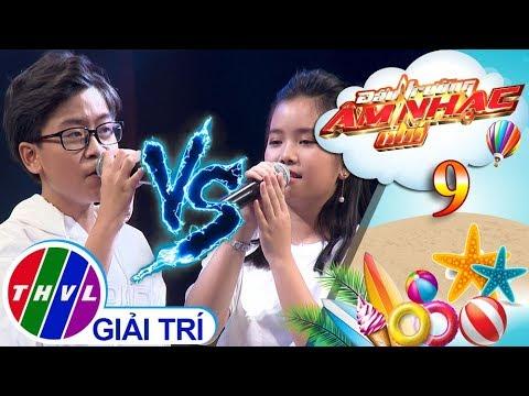 THVL | Đấu trường âm nhạc nhí - Tập 9[8]: Mưa chiều miền Trung - Tấn Bảo, Hà My