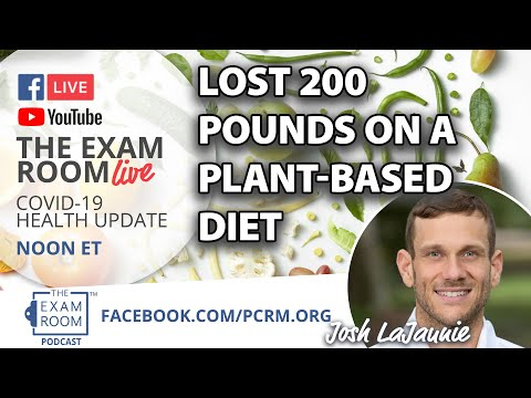 Lost 200 Pounds on a Plant-Based Diet! | Exam Room Live