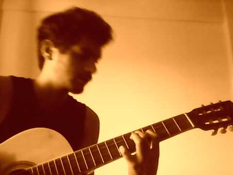 Nikhil J Menon - Where Gravity Fails Acoustic with Lyrics(Live in my Bedroom :P)