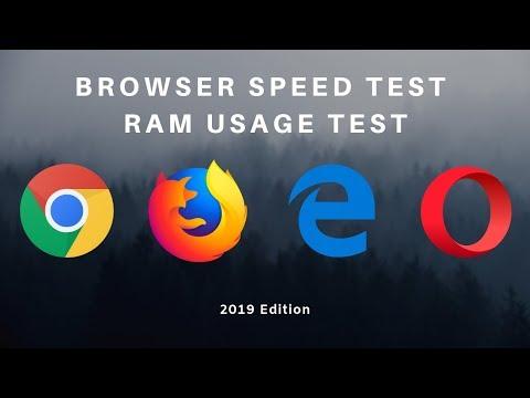 Chrome Vs Firefox Vs Edge Vs Opera Speed Test | 2019 Edition