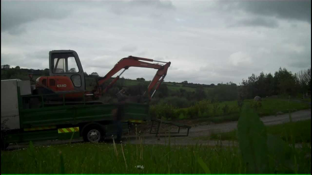 Irish Landscaper Lawn Mower Grounds Maintenance Truck