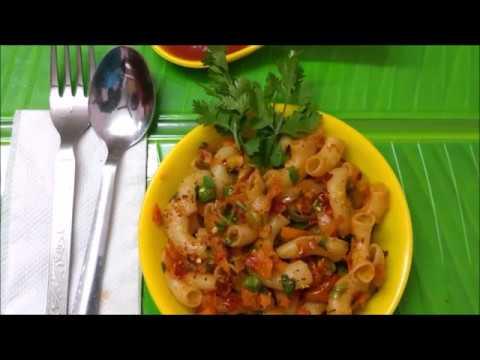 Macaroni Recipe Indian Style Veg In Tamil 13 Recipe Video Tube