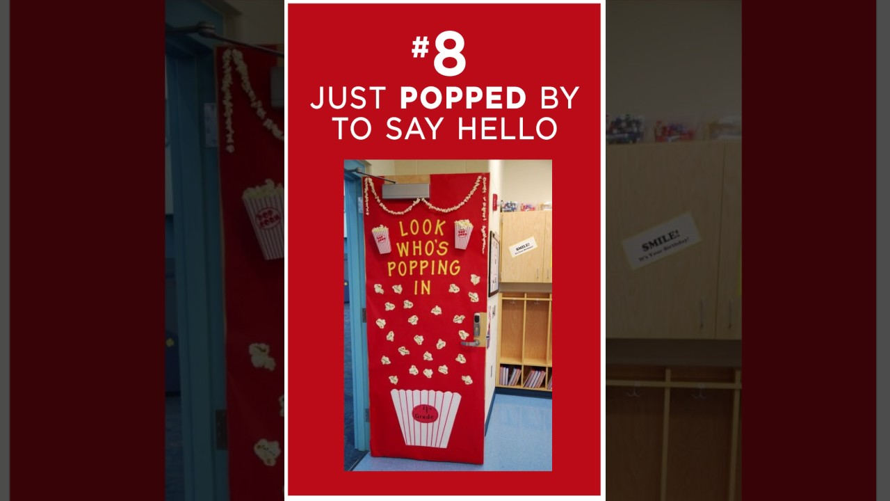 65 Awesome Classroom Doors For Back-to-School
