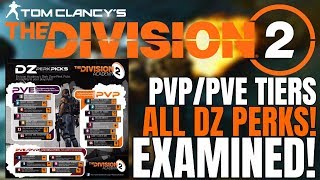 Welcome Agents. Today we take a look at all of the Dark Zone Perks ...