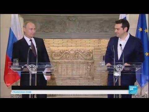 """Putin in Greece - """"There"""