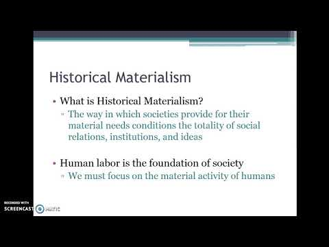 6 Historical Materialism