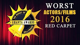 Ghanta Awards 2016 For Worst Movies/Actors RED Carpet