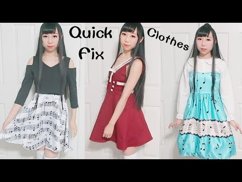 Quick Fix Unfitted Clothes | Clothes Transformation + My New Cute Clothes