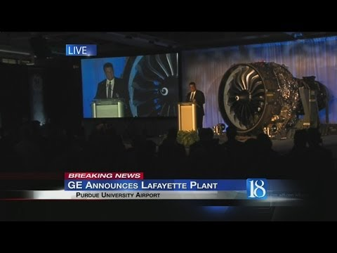GE Aviation announces Lafayette facility, creating 200 new jobs