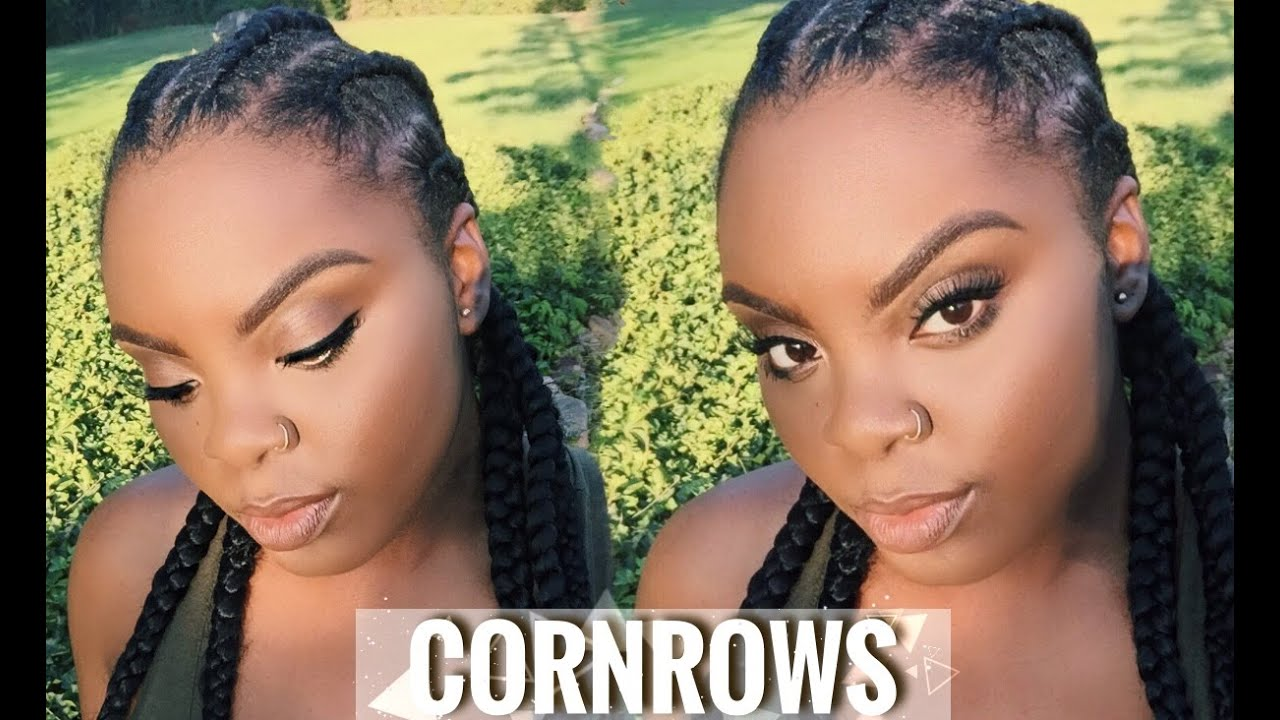 How To Cornrows On 4c Natural Hair Bria S Beauty Ft