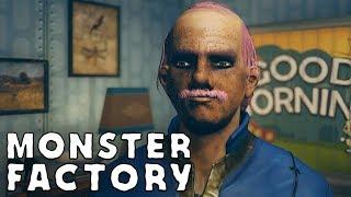 "Monster Factory: Freddy ""Slimeburger"" Jr. emerges from Vault 76"